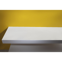 VOLLE Столешница 90*46*8см каменная Solid surface